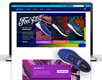 ASICS: LANDING PAGE FEEL FAST | 2017