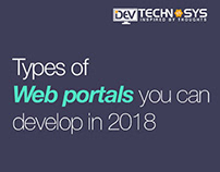 Types of Web Portals You Can Develop this 2018
