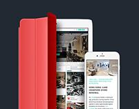 Retailand.com - UX , UI, Responsive Website Design