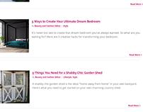 Women's interest niche site