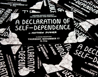 A Declaration of Self-Dependence