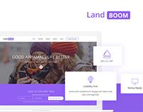 LandBoom – Best App Landing Page Template