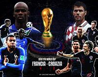 France - Croatia   Fifa World Cup 2018