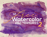 12 Free Abstract Watercolor Textures 2