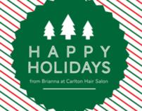 Carlton Hair Holiday Coupon