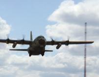 C-130 (Hercules) Ocean-Crash VFX