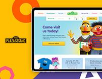 Sesame Street Theme Park eCommerce