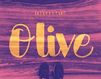 Olive – Handwritten Font