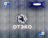 """Sketch presentation layout """"OTEKO"""""""