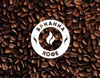 """""""Brianna coffeeshop"""" short brandbook"""