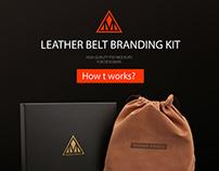 Leather Belt Branding KIT