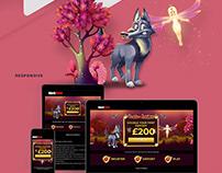 NetBet UK Landing Page Casino