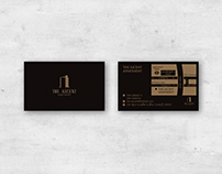 《The Ascent Apartment》Business Card Design