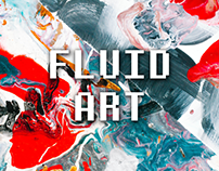 F L U I D A R T~ Abstract artwork