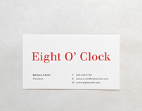 Eight O' Clock New Logo    and Stationery