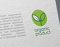 National logo for organic food products