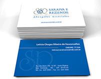 Saraiva & Rezende - Cartão de Visita