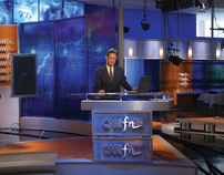 CNNfn Headquarters-Broadcast Studio