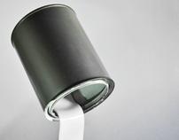 Recycled Driping Lamp