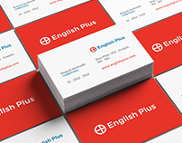 English Plus | Redesign Logo