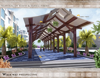 Walk way designed for Chevron and PMCJubail.