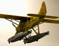 Seaplane Tintin