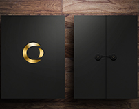 Elegant Personalized Sales Folder