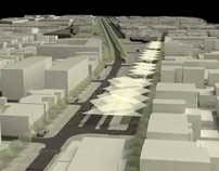Urban Redevelopment . Espinho AXIS . 4th Prize winner