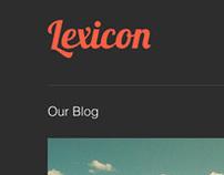 Lexicon Comp