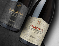 Amarone wine label ( Antolini winery )