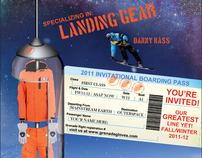 Print Ads for Grenade Gloves, 2012 Line