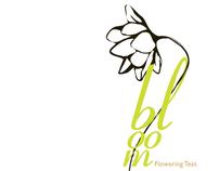 Bloom Flowering Teas Packaging Design