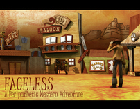 Faceless, Peripathetic Western Adventure