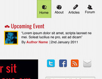 BIMPA Website User Interface Prototype.