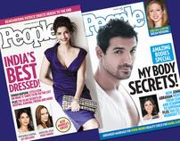 People Magazine Cover Design