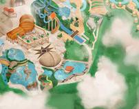 The Jungle - Infotainment Map