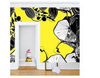 """Wallpaper """"Flower Power Paris"""" 2015"""