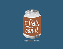 Let's Can It  |  Social Change Campaign