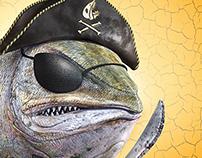 Salmon Pirate ~ Glad Wrap