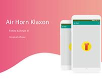 Air Horn Klaxon