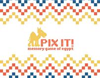 Schoolproject - Pixelart 'Game of Egypt'