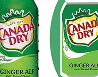 Canada Dry [Made in Adobe Illustrator]