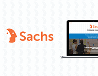 Sachs Website Rebranding
