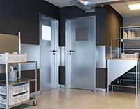 inox doors