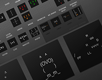 MODV SYSTEM icons/interface