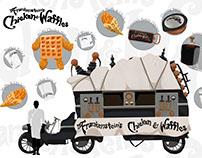 Theme Food Truck - Dr. Frankenstein's Chicken & Waffles