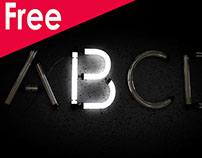 Free Neon Alphabet Download Cinema 4d