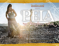 Marketing Material for Peia Show