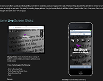 Personal Responsive Portfolio - HTML, CSS3, JQuery