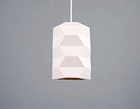 Bone China Pendant Light